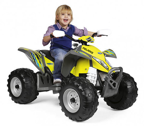 Детский квадроцикл Peg Perego Polaris Outlaw Citrus IGOR0090