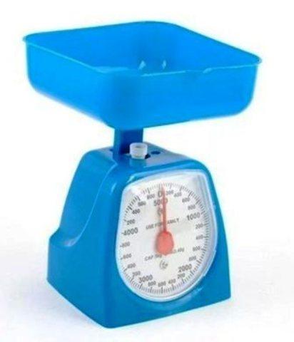 Весы бытов. с чашей до 5 кг 7/70WY-20-21