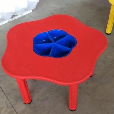 Стол KING KIDS Сэнди с системой хранения мелочей Красный KK_KM1200_R