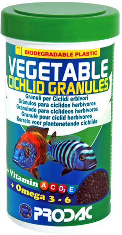 Prodac cichlid vegetable granules
