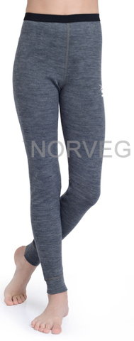 Терморейтузы  Norveg Climate Control детские серый меланж