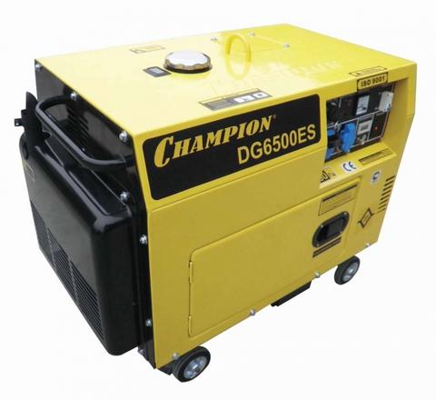 Дизельный генератор Champion DG6500ES 5.5кВт