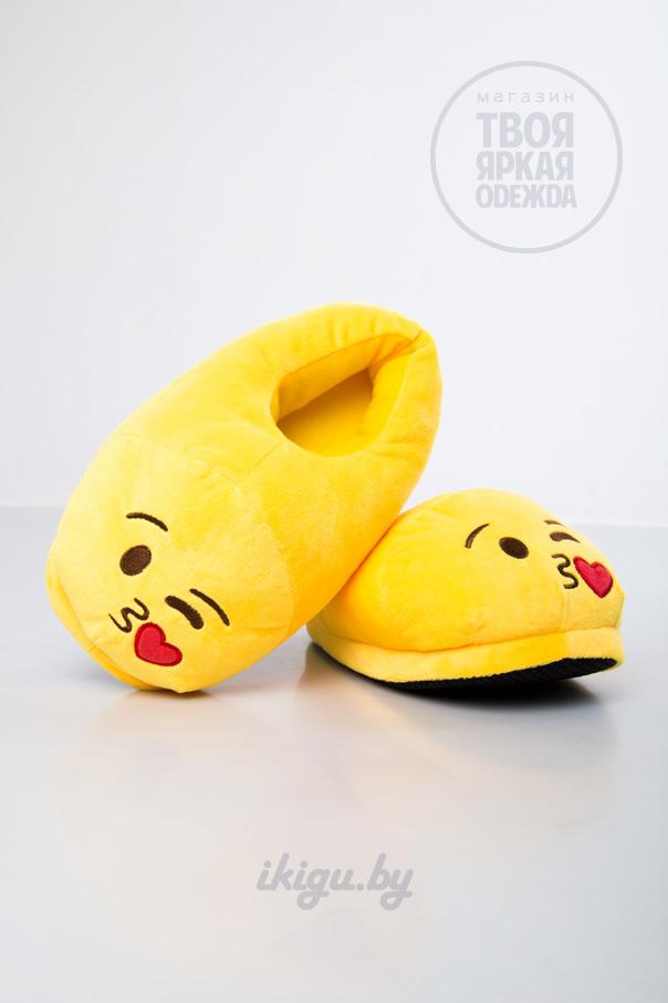 """Тапочки Тапочки Emoji """"Поцелуй"""" kiss.jpg"""