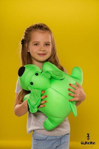 Подушка-игрушка антистресс «Патрик Зеленый» 2