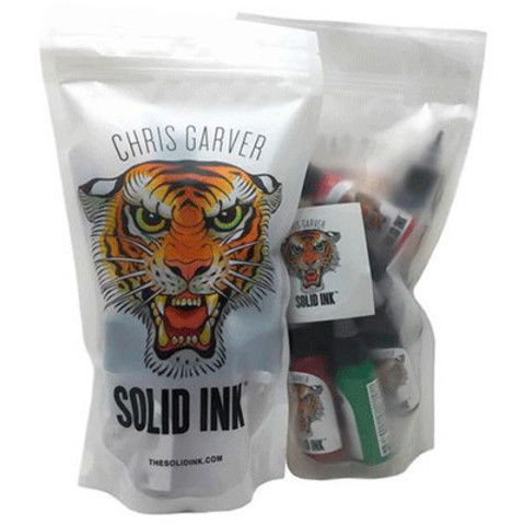 Краска Solid Ink CHRIS GARVER 12 COLOR SET 1oz