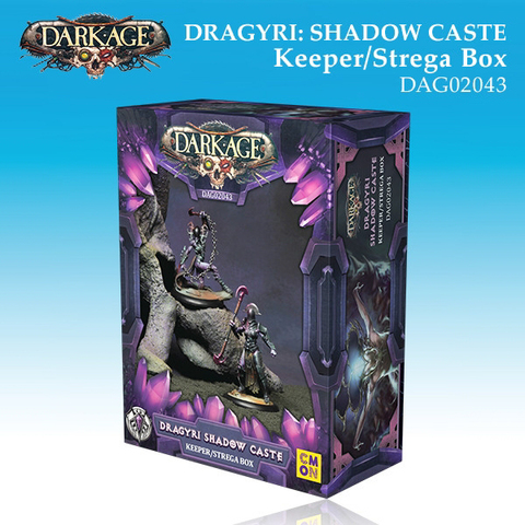 Dragyri Shadow Caste Keeper/Strega Unit Box
