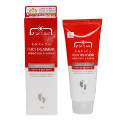 3W Clinic Enrich Foot Treatment - Восстанавливающий крем для уставших ног