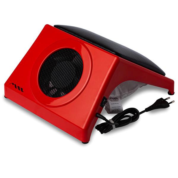 Купить Настольная вытяжка для маникюра MAX Storm 4 Красный (32Вт max), с подушкой BLACK