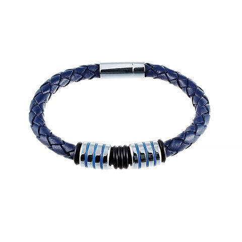 Кожаный браслет JV 232-0078