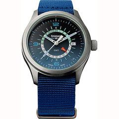 Швейцарские тактические часы Traser P59 AURORA GMT Blue 107037