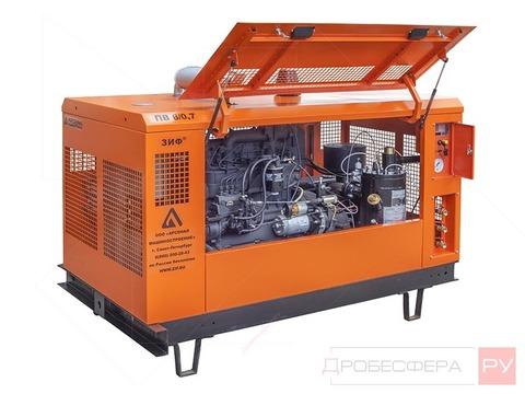 Дизельный компрессор 6000 л/мин 10 бар