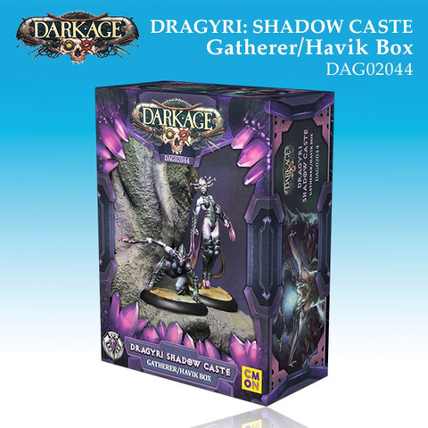 Dragyri Shadow Caste Gatherer/Havik Unit Box