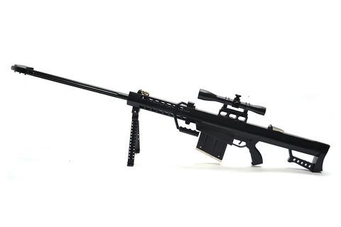 Barret sniper rifle scale 1:4