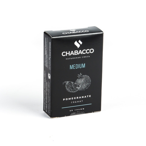 Кальянная смесь Chabacco - Pomegranate (Гранат) 50 г