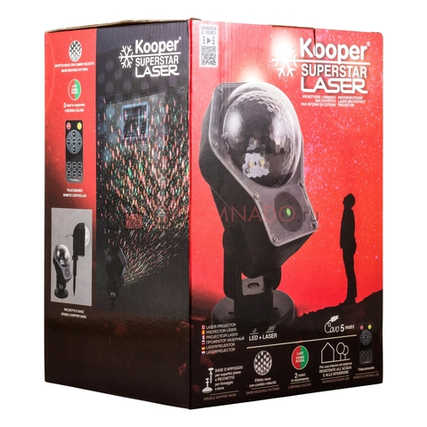 Лазерный проектор Kooper Superstar Laser
