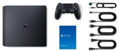 Sony PlayStation 4 Black Slim 1Тб (CUH-2208) + игра Horizon: Zero Dawn Complete Edition