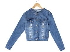 62129 куртка женская, джинсовая