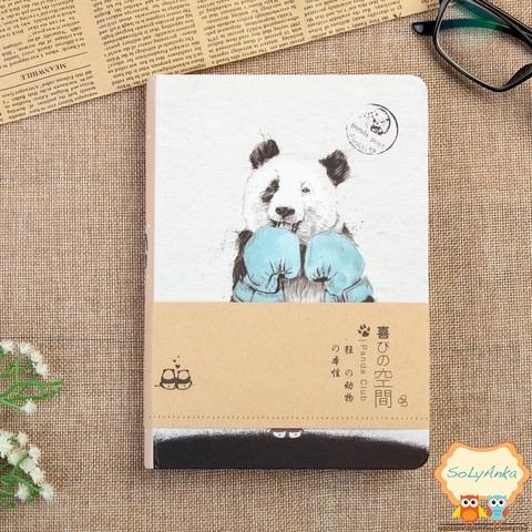 Блокнот Панда. Тип 4