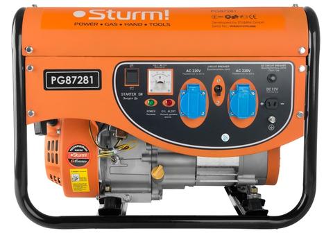 Бензогенератор Sturm PG87281  2.8кВт
