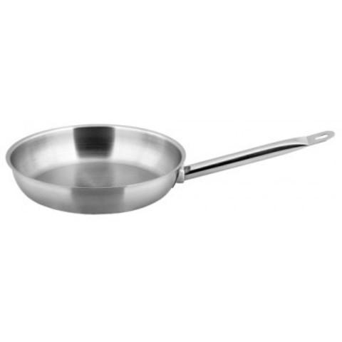 Сковорода нерж.Gastrorag без крышки D 24см P10-2.0-24