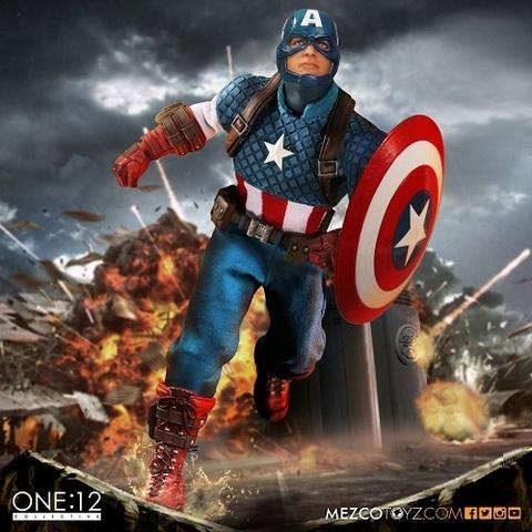 Мстители фигурка 1/12 Капитан Америка