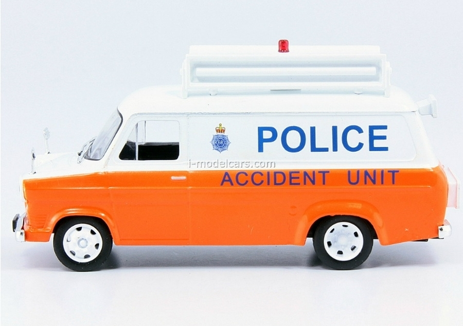 Ford Transit MK1 City Police UK 1:43 DeAgostini World's Police Car #26