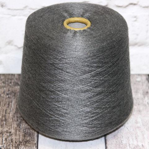 Меринос с шелком и кашемиром (35%) Loro Piana CLASSIC 2/58 серый стальной