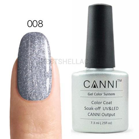 Canni Canni, Гель-лак 008, 7,3 мл 008.jpg
