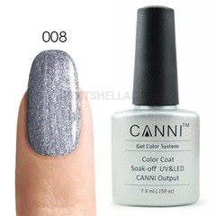 Canni, Гель-лак 008, 7,3 мл