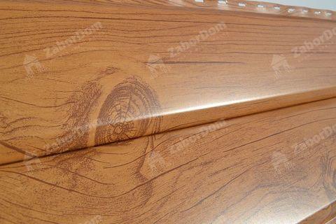 Металлический сайдинг под брус Металл Профиль Ecosteel Сосна 0,5 мм