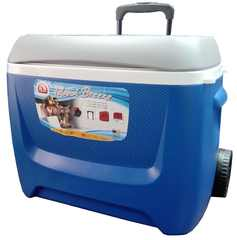 Изотермический пластиковый контейнер Igloo Island Breeze 60 Roller blue