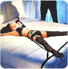 Бондаж BDSM - фиксация для рук и ног Scandal Over The Bed Cross