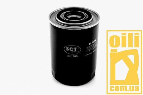 Фильтр масляный SCT SK809 (Citroen, Opel, Fiat, Iveco, Renault)