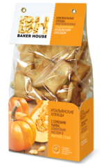 """Итальянские хлебцы """"Baker House"""" с сем. тыквы. ол. маслом и морск. солью 250 г"""