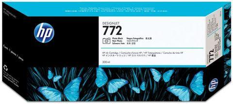 Картридж HP CN633A (№772) фото черный 300 мл.