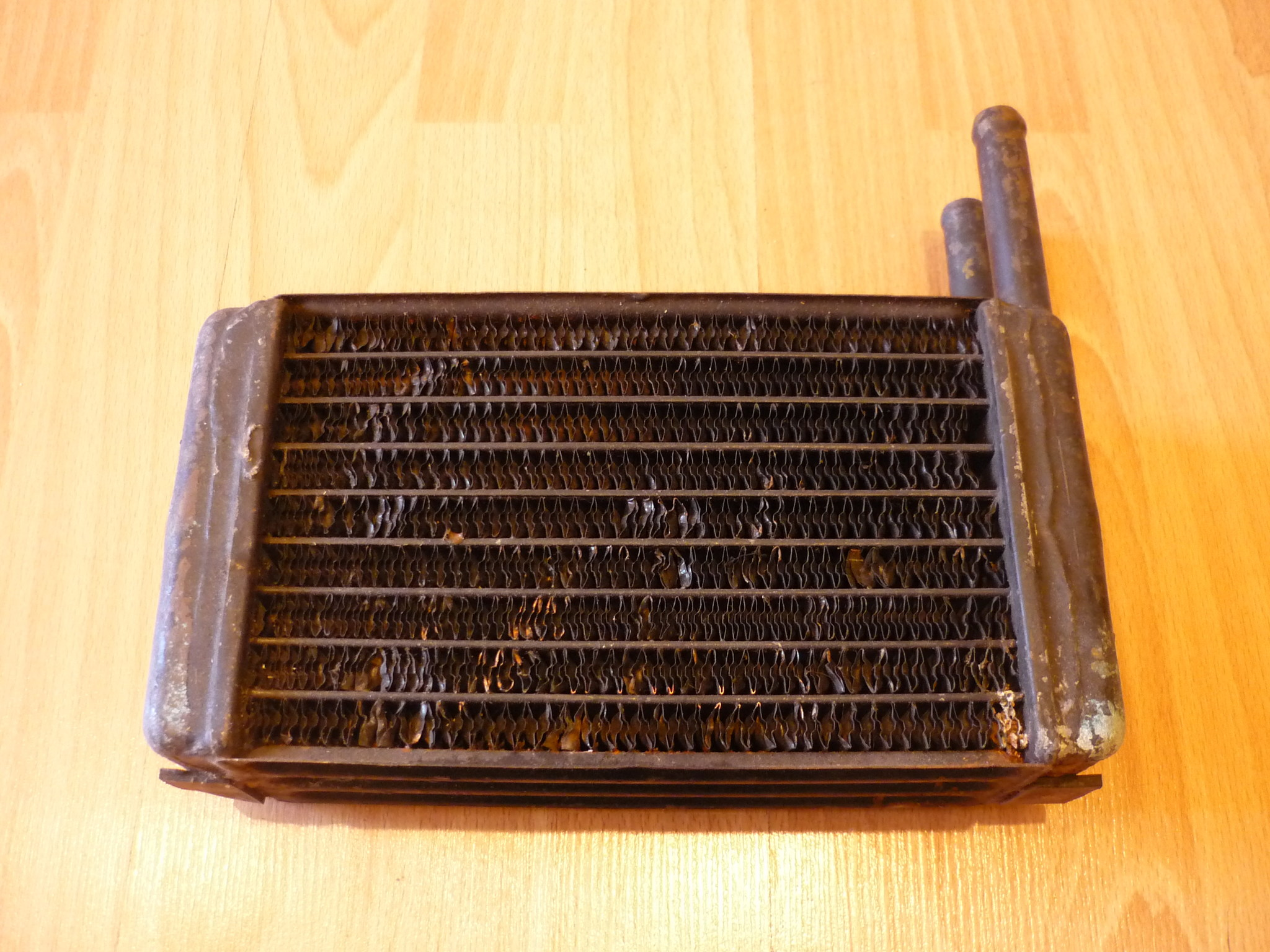 Радиатор печки салона ШААЗ на Маз