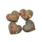 Китайский зеленый чай в виде сердца с гвоздикой вид-3