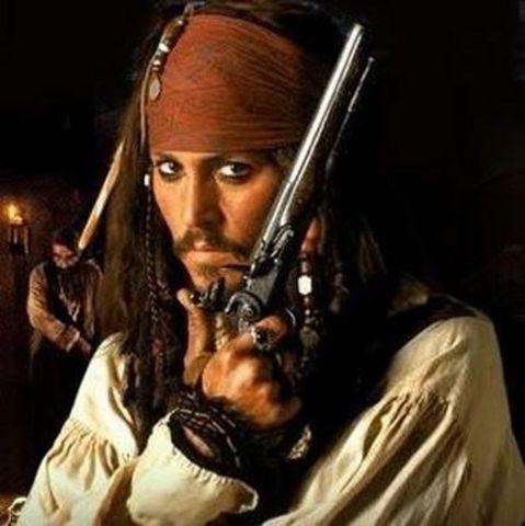 Пираты Карибского моря пистолет Джека Воробья