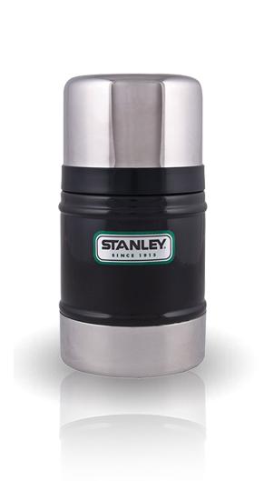 Термос для еды Stanley Classic Vacuum Food (0,5 литра), черный
