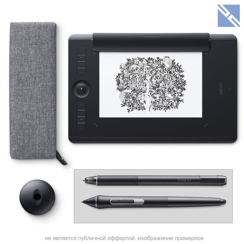 Планшет графический Wacom Intuos Pro Paper Edition Creative Pen Tablet (Medium)