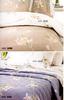 Постельное белье 1.5 спальное Mirabello Chorisia сатин бежевое