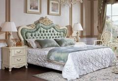 Кровать Милано (MK-1860-IV 200x180) Слоновая кость