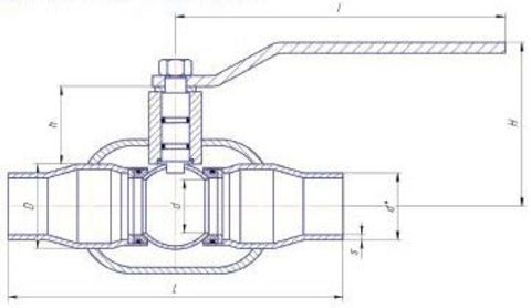Конструкция LD КШЦП GAS П/П