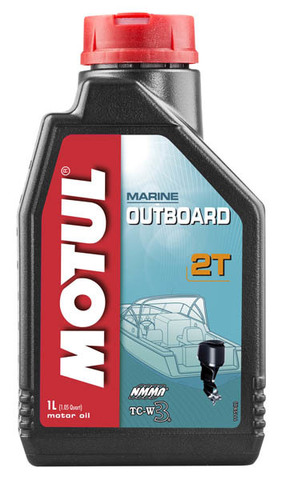 Моторное масло Motul Outboard 2T (1л)