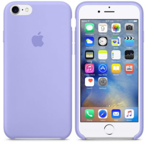 iPhone 7/8 Silicone Case Фиалковый