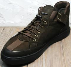 Городские кроссовки сникерсы Luciano Bellini 71748 Brown