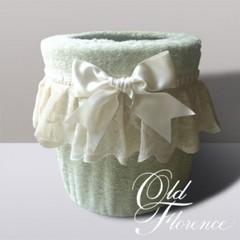 Ведро для мусора в ванную 20 Old Florence Buratto зелёное