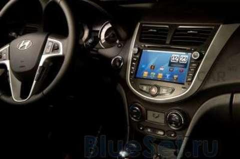 Car 4G JET штатная мультимедийная система в авто, на Android для Hyundai