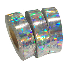 Купить обмотку обруча по художественной гимнастике серебряную Silver