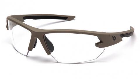 Очки баллистические стрелковые Pyramex Semtex 2.0 VGST1410T Anti-fog прозрачные 96%